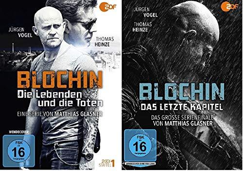 Blochin - Die Lebenden und die Toten Staffel 1 + Das letzte Kapitel [DVD Set]