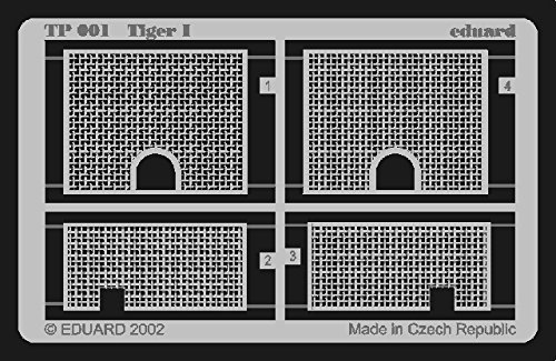 Eduard Accessories Edouard Accessoires – Tp001 Accessoire – Modélisme – Accessoire – SD. Kfz. 181 Tiger I