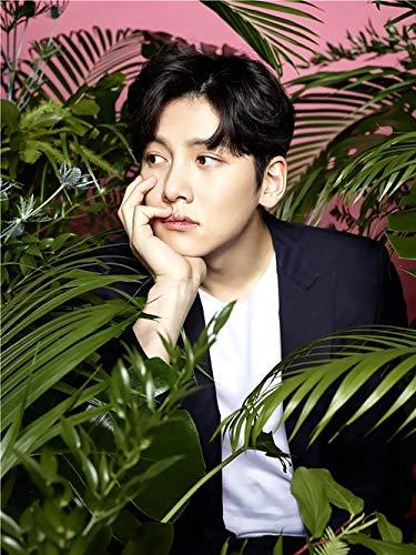 Abkaeh Imagen de Bordado de Diamantes Imagen de Corea dolo Estrella Actor Pster 5D Bordado de Punto de Cruz Bordado Decoracin-H_S Da de la Madre Gift_40x50