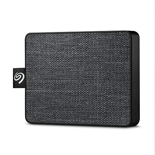Seagate One Touch SSD, 1 TB, Disco Duro Externo Portátil SSD, USB-C, USB 3.0 para PC y Mac, 4 meses del Plan Adobe Creative Cloud Photography y 3 años de servicios Rescue (STJE1000400)