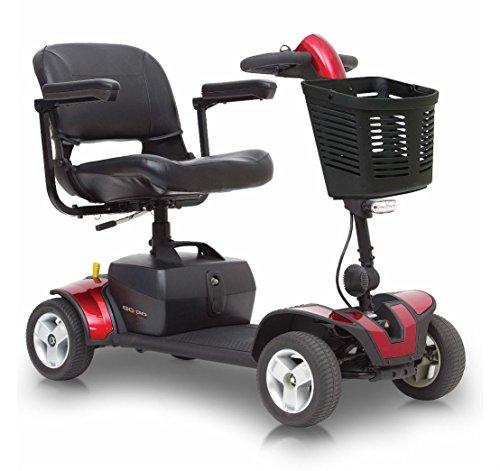 Pride Go-Go Elite Traveller Sport Mobility Scooter - Red