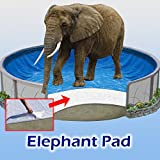 24 ft Round Pool Liner Pad,...