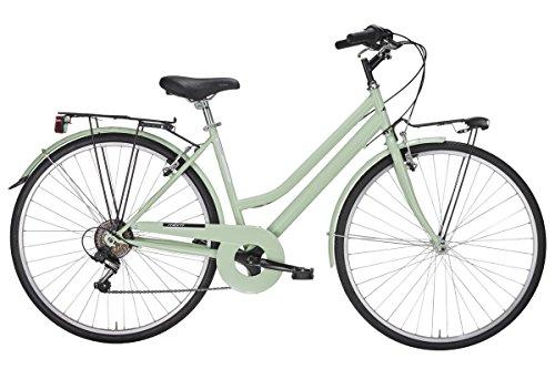 MBM Turing, Bicicletta da Trekking Donna, Verde...