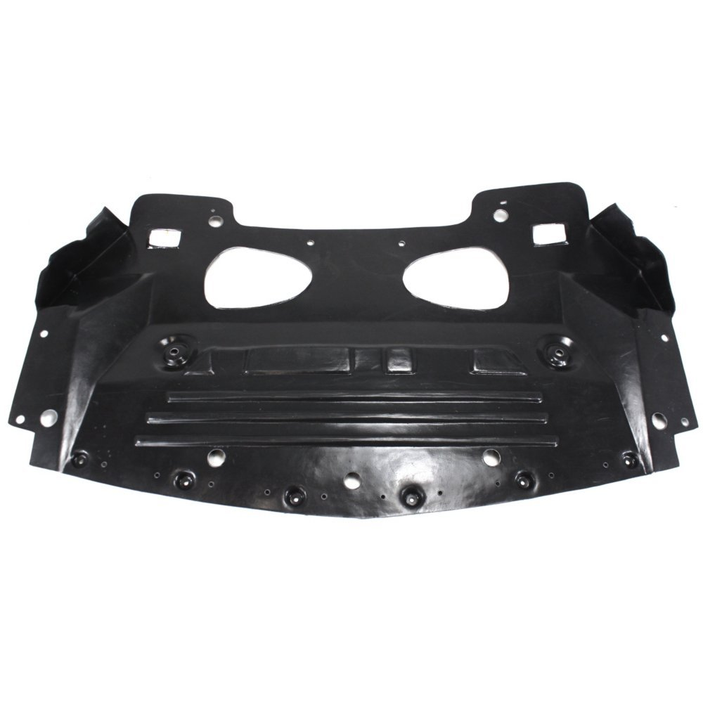 Engine Splash Shield Plastic Engine Under Cover Radiator air deflector Front compatible with Cadillac STS