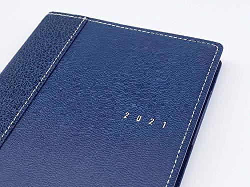 高橋手帳2021年B6ウィークリーシャルム1ブルーブラックNo.351(2021年1月始まり)