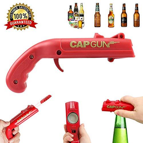 Apribottiglie per bottiglie di birra, pistola spara-tappi, apribottiglie, apribottiglie per bevande, birra,...