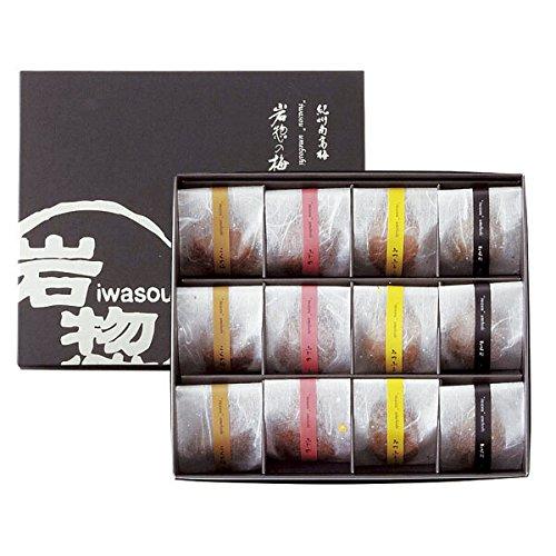 岩惣 紀州南高梅 一粒梅 12粒 IHI-W12