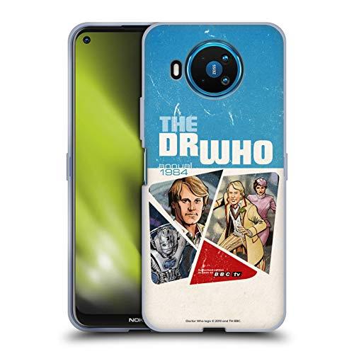 Head Case Designs Licenciado Oficialmente Doctor Who Peter Davison Cubiertas Anuales Clásicas Carcasa de Gel de Silicona Compatible con Nokia 8.3 5G