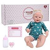 Asixxsix Real Life Baby Dolls, squisite Bambole Reborn 21in, per Bambini Regali di Compleanno Collezioni di Bambole Adulti(KSRB001CCWA)