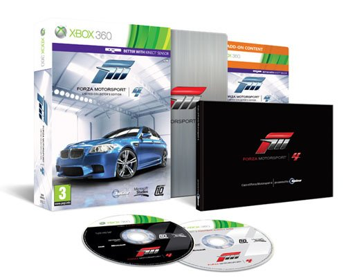 Forza Motorsport 4 - Limited Collector's Edition [Importación Italiana] [Importación Italiana]