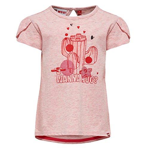 Lego Wear Lego Duplo Girl TIA 307-T-SHIRT T-Shirt, Rosa (Rosa (Rose 420) 420), 4 Ans Bébé Fille
