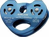 Edelrid Seilrolle Rail double pulley, titan, One Size, 717910000730 -