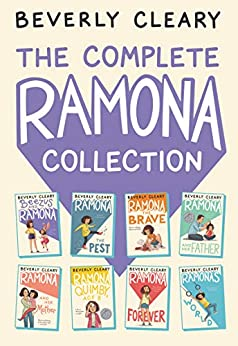 The Complete Ramona Collection: Beezus and Ramona, Ramona the Pest, Ramona the Brave, Ramona and Her Father, Ramona and Her Mother, Ramona Quimby, Age 8, Ramona Forever, Ramona's World by [Beverly Cleary, Jacqueline Rogers]