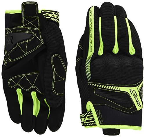 guanti five rs3 black/fluo yellow (xl)