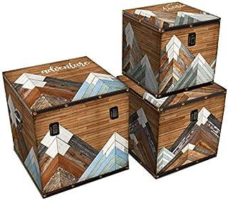 Vacchetti 1223640000 Lot de 3 boîtes Multicolore Taille M