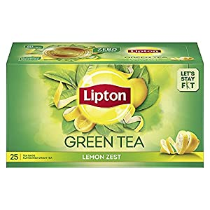 Indian green tea with refreshing taste