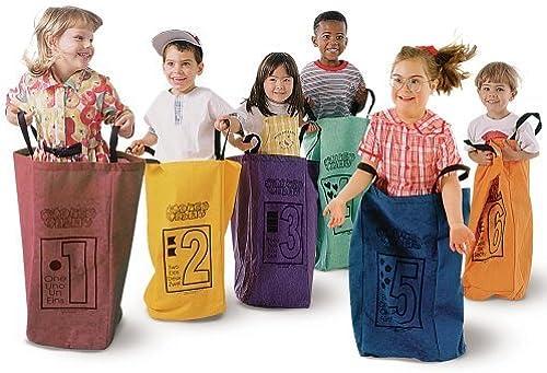 presentando toda la última moda de la calle Learning Carpets Jumping Bags - Set Set Set Of 6 by Learning Carpets  nueva marca