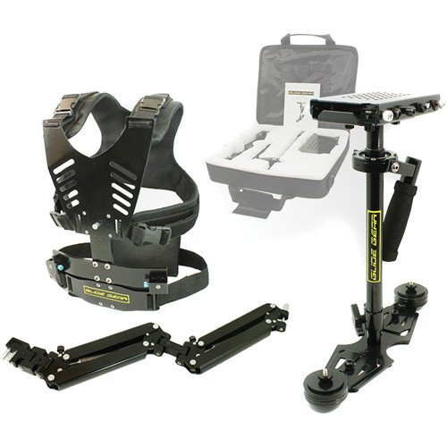 Glide Gear DNA 6001 Vest and Arm & Camera Stabilizer Stabilization System w/Carry Case