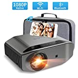 1080P Projector, Artlii Energon 2 Native 1080P Wifi Projector with Bluetooth Function, 6800