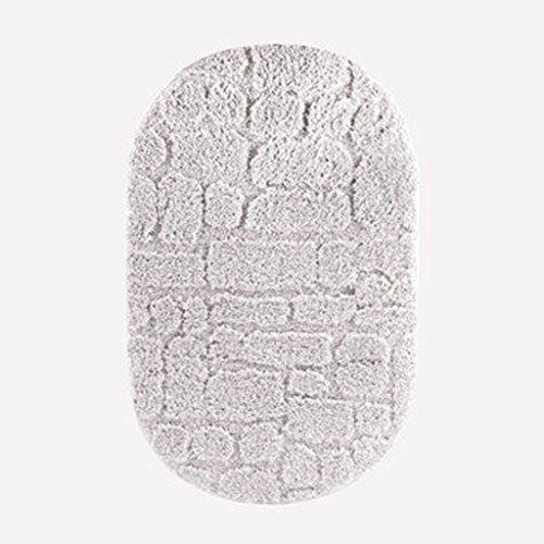 Zone de Soft Round Rugs b/éb/é Chambre denfant D/écor Chambre denfant Tapis pour Chambre de Fille Blanketswarm b/éb/é Tapis Coton Gray Rabbit 0,9/x 0,9/m 90cm=3FT
