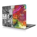 Redlai Funda MacBook Pro 15 with Touch Bar,Ultra Delgado Funda Rígida Protector de Plástico para La última MacBook Pro 15 pulgadas Modelo: A1707 (2017/2016,Liberación), Cerebro No.2