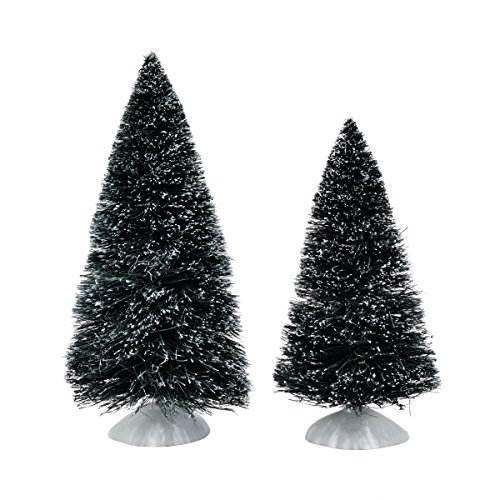 Department 56 Accessories for Villages Bag-O-Frosted Topiaries Figurine