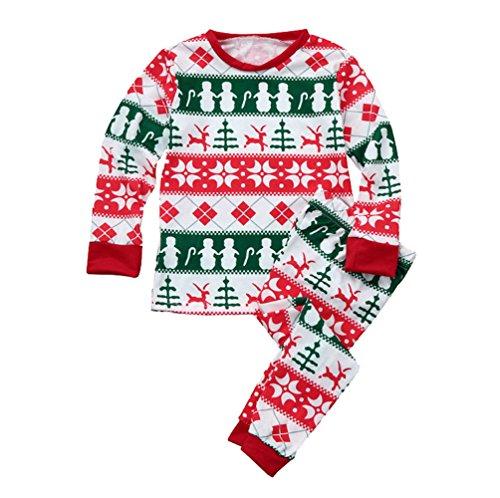 Weihnachten Pyjama Familie Weihnachts Schlafanzug Schlafanzüge Erwachsene Frauen Männer Kinder Weihnachtspyjama Nachtwäsche Mädchen Jungen Schlafoverall Baby Einteiler Jumpsuit Kind 12-13 Jahre Alt