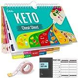 Keto Diet Cheat Sheet Magnets Kit, Magnetic...