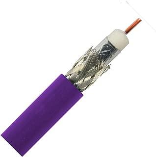 Belden 1694A HD/SDI 18AWG RG6 SerialDigital Coaxial Cable - 1,000 FEET (Violet)