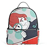 Qdaily Backpack Stylish Campus College School Backpack Water Resistant Casual Daypack Laptop Backpack for Women Girls Travel