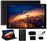 Facetel Q3 Pro 10 inch Tablet, Octa-Core Processor, Android 9.0 Pie, 3 GB RAM 32 GB Storage 128GB Extended Memory,10'' IPS HD Display,GMS Google Certification,5G Wi-Fi,Bluetooth,GPS,Metal Black