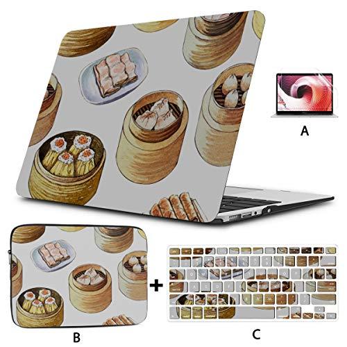 Estuche Macbook Air Utensilios de Cocina creativos Hogar Vaporizador de Alimentos Estuche Mackbook Pro Carcasa Dura Mac Air 11'/ 13' Pro 13'/ 15' / 16'con Funda para portátil para Macbook Versión