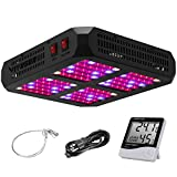 VIVOSUN 600W Led Grow Light Full Spectrum with Double Switch for Indoor Plants Growing Veg and Bloom