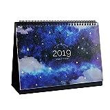 2017-2018 Jahr Einzigartige Tageskalender Planer Schreibtisch Stehender Kalender, # 02