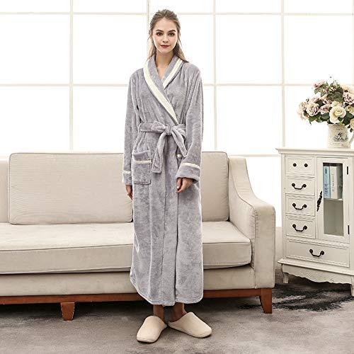 SleepWears Nachtkleding Pyjama Sets Flannel Badjas Met Grote Maat Mink Fluwelen Paar Nachtjapon