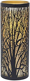 Sterno Home Candle Impressions Indoor/Outdoor Laser Cut Tree Luminary with Programmable..