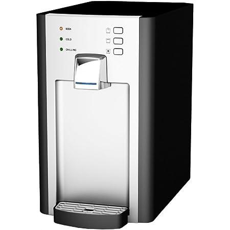 SPRUDELUX Machine à gazéifier professionnelle RED Diamond sans bouteille de CO2 - Pour usage domestique - Eau minérale pétillante et gazéifiante