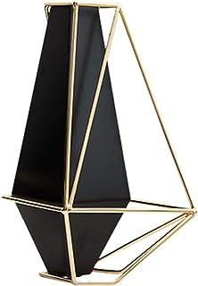 Vase Géométrique Vase Décoration De Vase en Métal Moderne, Table Basse Simple, Table À Manger, Salon, Meuble TV, Arrangeme...