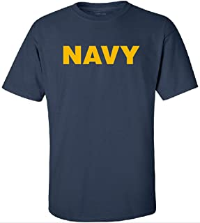 Military T-Shirts - Navy Logo T-Shirts in Sizes S-5XL