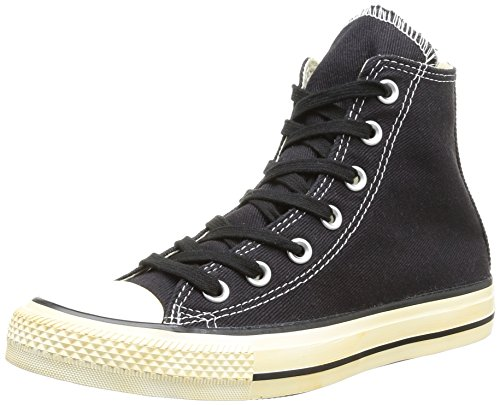 Converse Chucks - CT BACK ZIP HI 144769C - Black, Schwarz (8 Noir), 36.5 EU