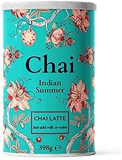 Nordic Roast   Chai Latte Tea   Indian Summer   398g   Mélange instantané de poudre de thé chai, un thé noir épicé au lai...
