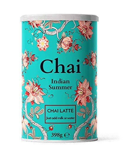 Nordic Roast | Chai Latte | Indian Summer | 398g | Preparato Istantaneo per Mix di Chai Latte | Té Nero Speziato con Latte per Uso Domestico, Bar, Ristoranti | Sufficiente per 15 Tazze