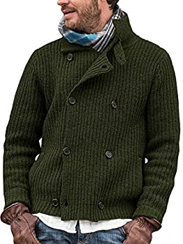 Best double breasted cardigan mens Reviews