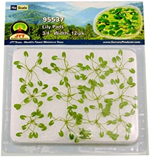 JTT Scenery Products Gardening Plants Lily Pads HO Scale Hobby Train Sceneries