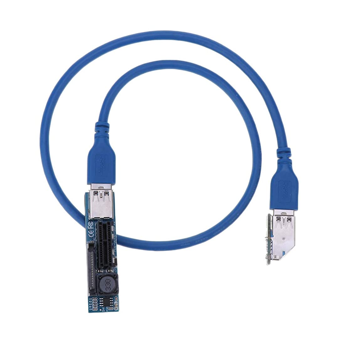 Homyl PCI-E X1 Extension Cable 0.7M for Limited Space Installation