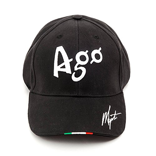 Agostini Collection Casquette Champion Noir