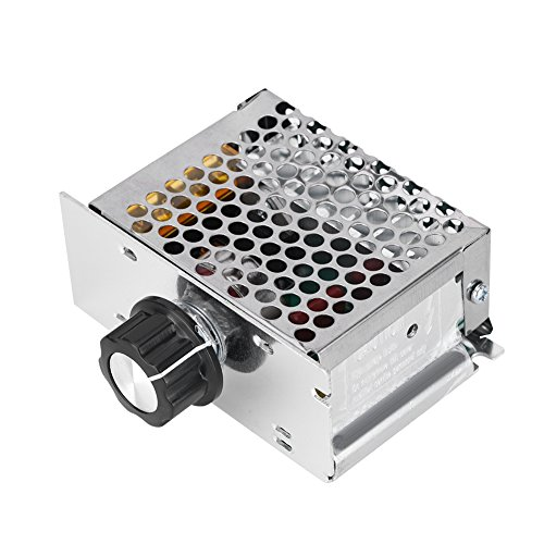 Regulador de tensión AC 4000 W Regulador de velocidad para motor eléctrico...