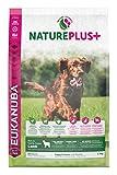 Eukanuba Nature Plus+ Croquette Riche en Agneau Fraichement Congelé pour Chiot/Chien Junior 2,3 kg