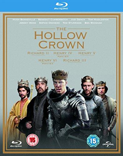 The Hollow Crown - Series 1-2 [Blu-ray] [2015] UK-Import, Sprache-Englisch.