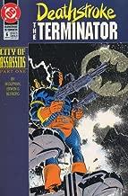 deathstroke the terminator city of assassins